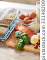 food, protein, indoors 33148209