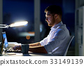 office, man, laptop 33149139