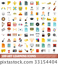 100 art learning 33154404
