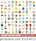 100 icons set 33154413