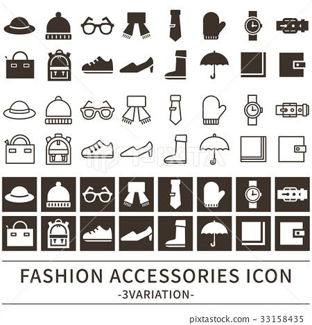 服飾 雜物 圖標 33158435