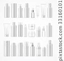 bottle, cosmetic, vector 33160101