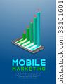 icon, marketing, man 33161601