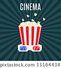 movie, cinema, popcorn 33164434