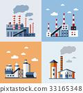 factory, vector, industrial 33165348
