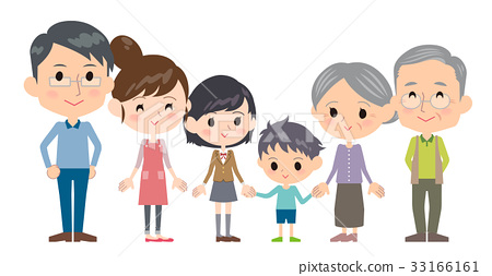 person, family, three generations 33166161