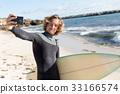 海滩 海洋 冲浪者 33166574