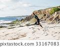 海滩 海洋 冲浪者 33167083