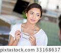 woman, office, beatiful 33168637
