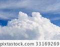 blue sky, summer, full summer 33169269