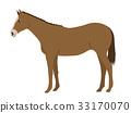 動物 矢量 馬 33170070
