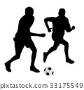 Young soccer players 33175549