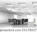Conference table and chairs in meeting room 33176037