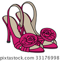 Pink romantic sandals 33176998