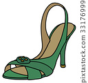 Green tape shoe 33176999
