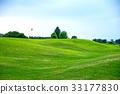 여름 하늘 한여름의 골프장 33177830