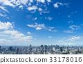 tokyo, blue sky, city 33178016
