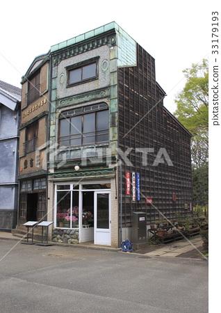 에도 도쿄 건물 정원 (E7 : 꽃시 꽃집 / E6 : 다케이 산세) 33179193