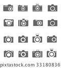 camera icons vector 33180836