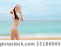asian chinese woman wearing bikini clothing 33184040