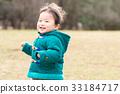 웃는 얼굴로 달리는 아이 (소년) 33184717