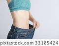 다이어트 여성 수축 33185424