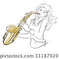 表现 演奏者 女性 33187920