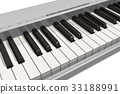 Synthesizer keyboard 33188991