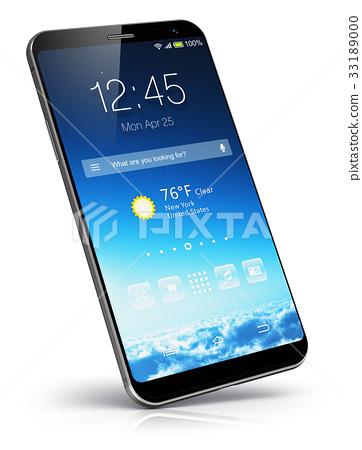 Modern touchscreen smartphone 33189000