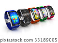 Collection of smart watches 33189005