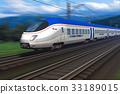 火车 速度 特快 33189015
