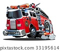 救火车 矢量 矢量图 33195614