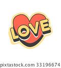 love, heart, vector 33196674