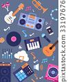 instrument music vector 33197676