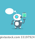 message robot vector 33197924