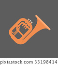 Horn Icon Wind Music Instrument Concept 33198414
