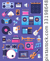 instrument music vector 33198648