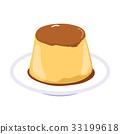 Flan Caramel Pudding 33199618