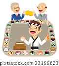 sushi conveyor roll 33199623
