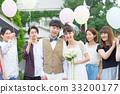 婚禮形象,祝福 33200177