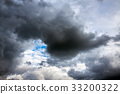 dark storm clouds in sky 33200322