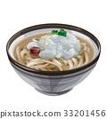 Grated udon noodles 33201456