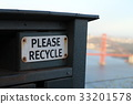 golden gate bridge, san francisco, recycle 33201578