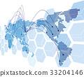 World map Vector 33204146