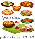 spanish food cuisine 33205179