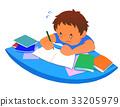 숙제, 공부, 소년 33205979
