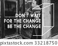 Life Change Opportunity Motivation Inspiration Word Graphic 33218750