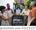 Open available business launch phrase 33219137