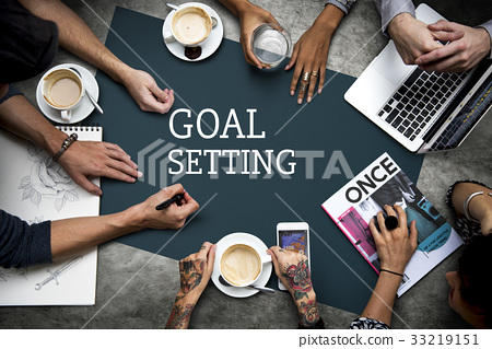 Business Marketing Plan Goal Setting Strategy Graphic 33219151