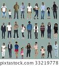 background, diversity, full 33219778